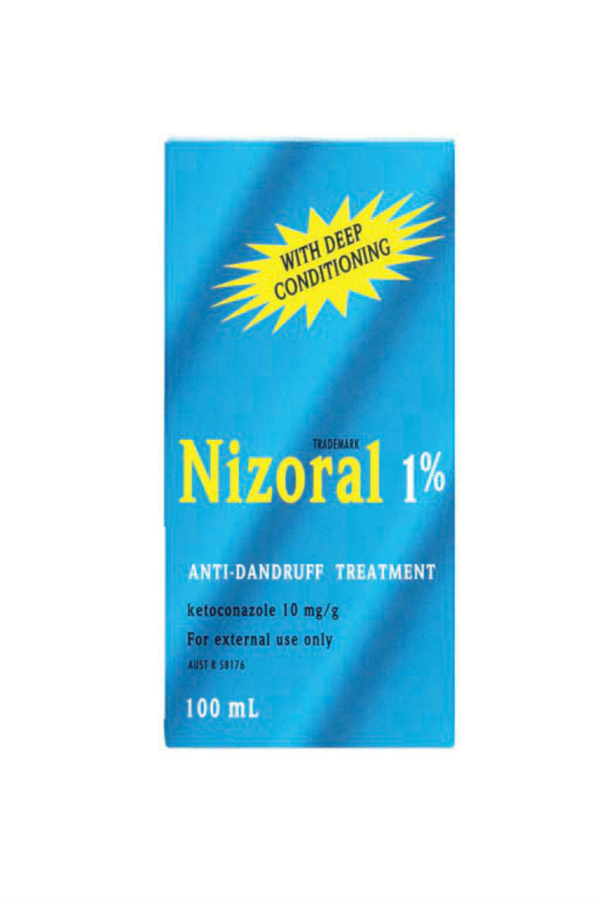 NIZORAL Shampoo 1% Anti-Dandruff Treatment 100ml - Life Pharmacy St Lukes