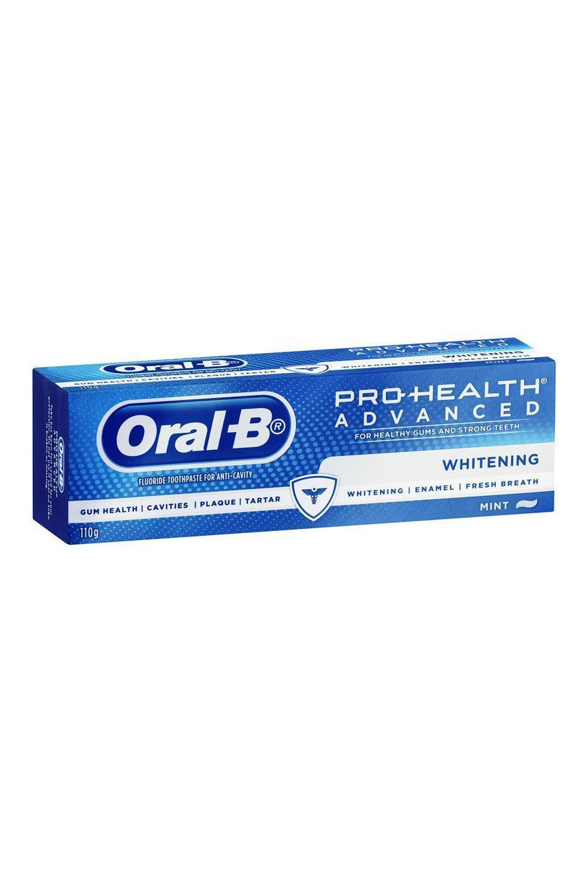 ORAL B Advanced Whitening Toothpaste 110g - Life Pharmacy St Lukes