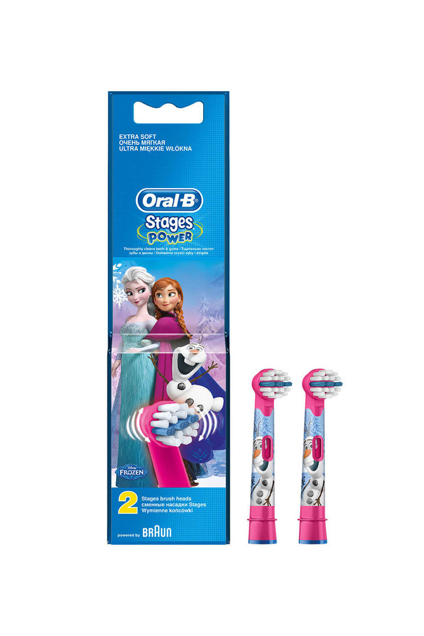 ORAL B Replacement Brush Heads Kids Frozen 2Pk - Life Pharmacy St Lukes