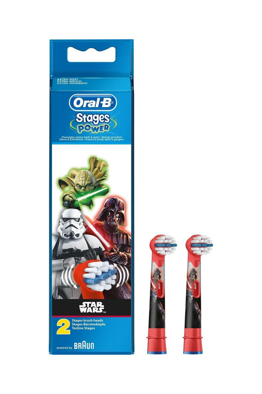 ORAL B Replacement Brush Heads Kids Star Wars 2Pk - Life Pharmacy St Lukes