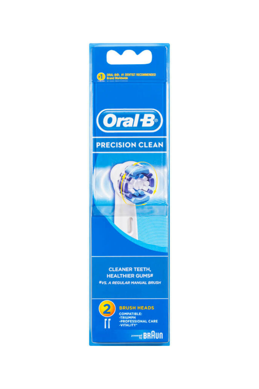 ORAL B Precision Clean Refill 2s - Life Pharmacy St Lukes