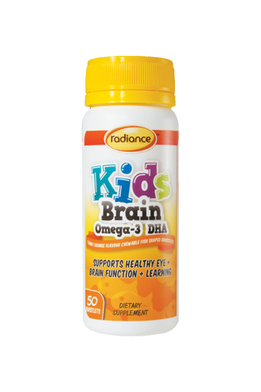 RADIANCE Kids Brain Omega 3 DHA 50 Caps - Life Pharmacy St Lukes