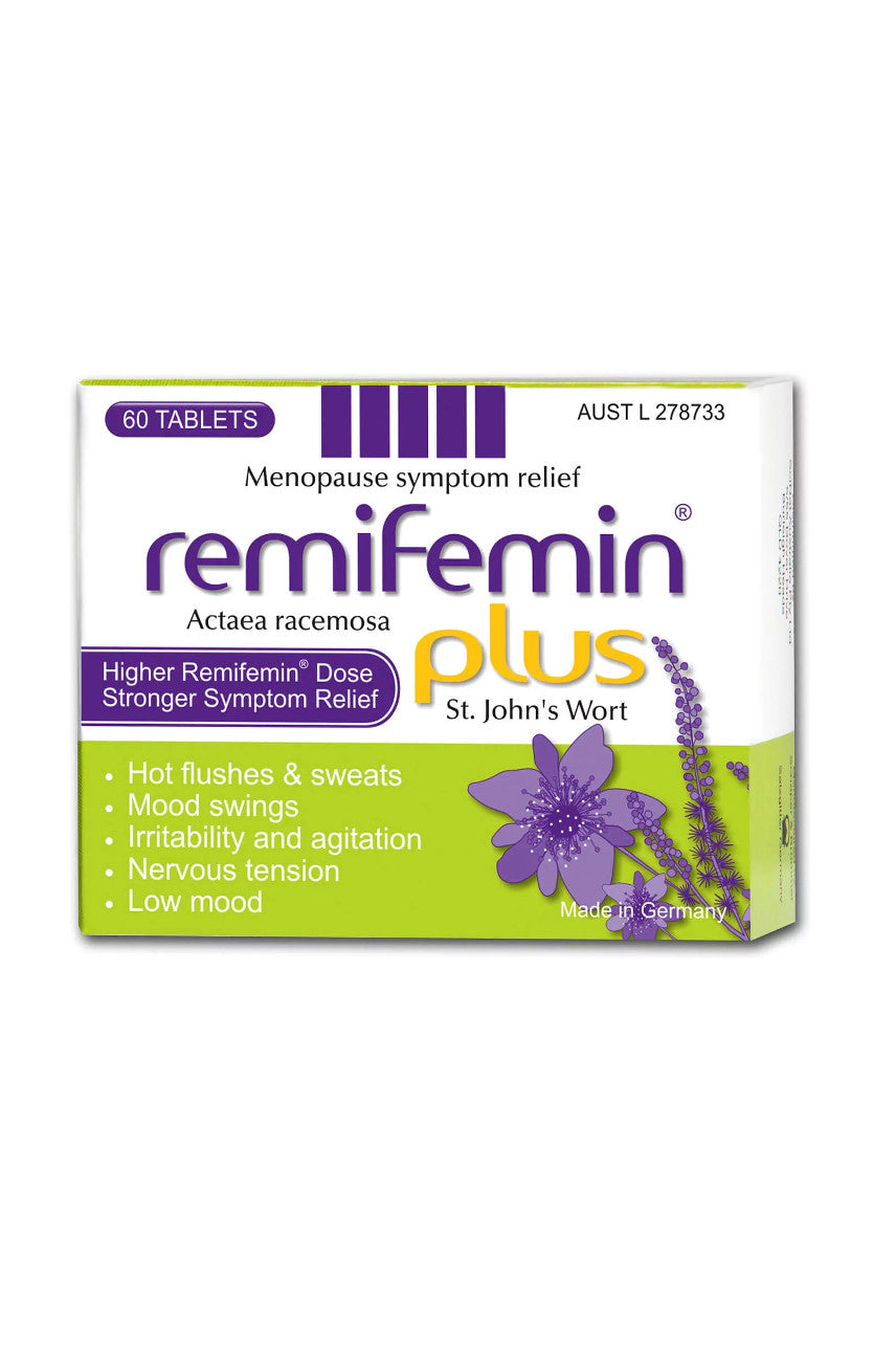 REMIFEMIN Plus St Johns Wort 60tabs - Life Pharmacy St Lukes