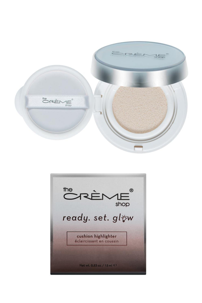 "THE CREME SHOP ""ready. set. glow."" Cushion Highlighter Rose Gold Glow - Life Pharmacy St Lukes"