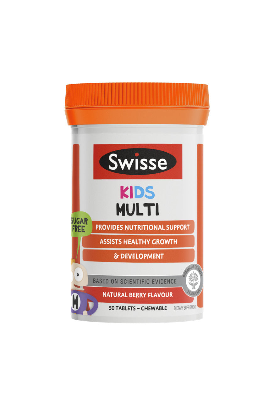 SWISSE Kids Multi 50tabs - Life Pharmacy St Lukes