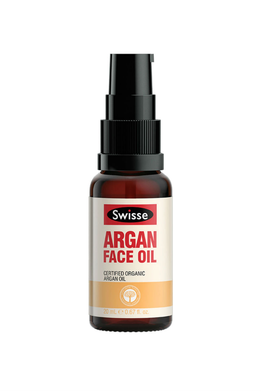 SWISSE Argan Face Oil Organic 20ml - Life Pharmacy St Lukes