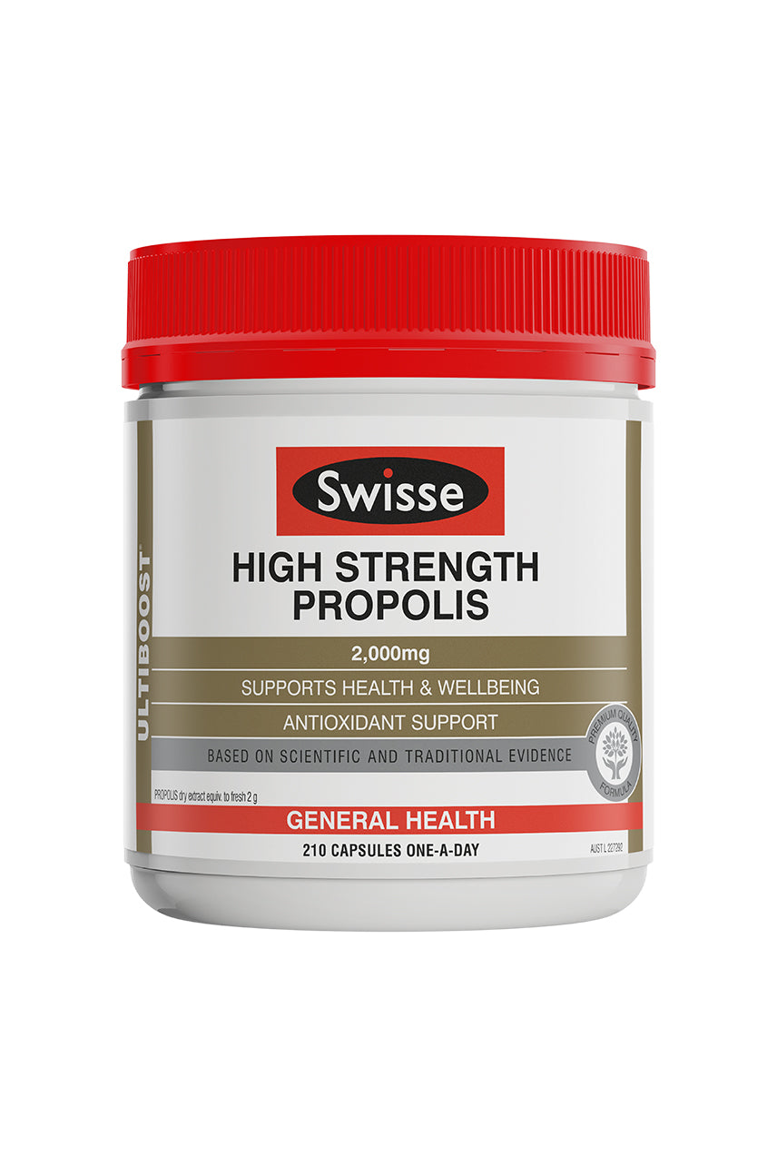 SWISSE Ultiboost High Strength Propolis 2000mg 210tab - Life Pharmacy St Lukes