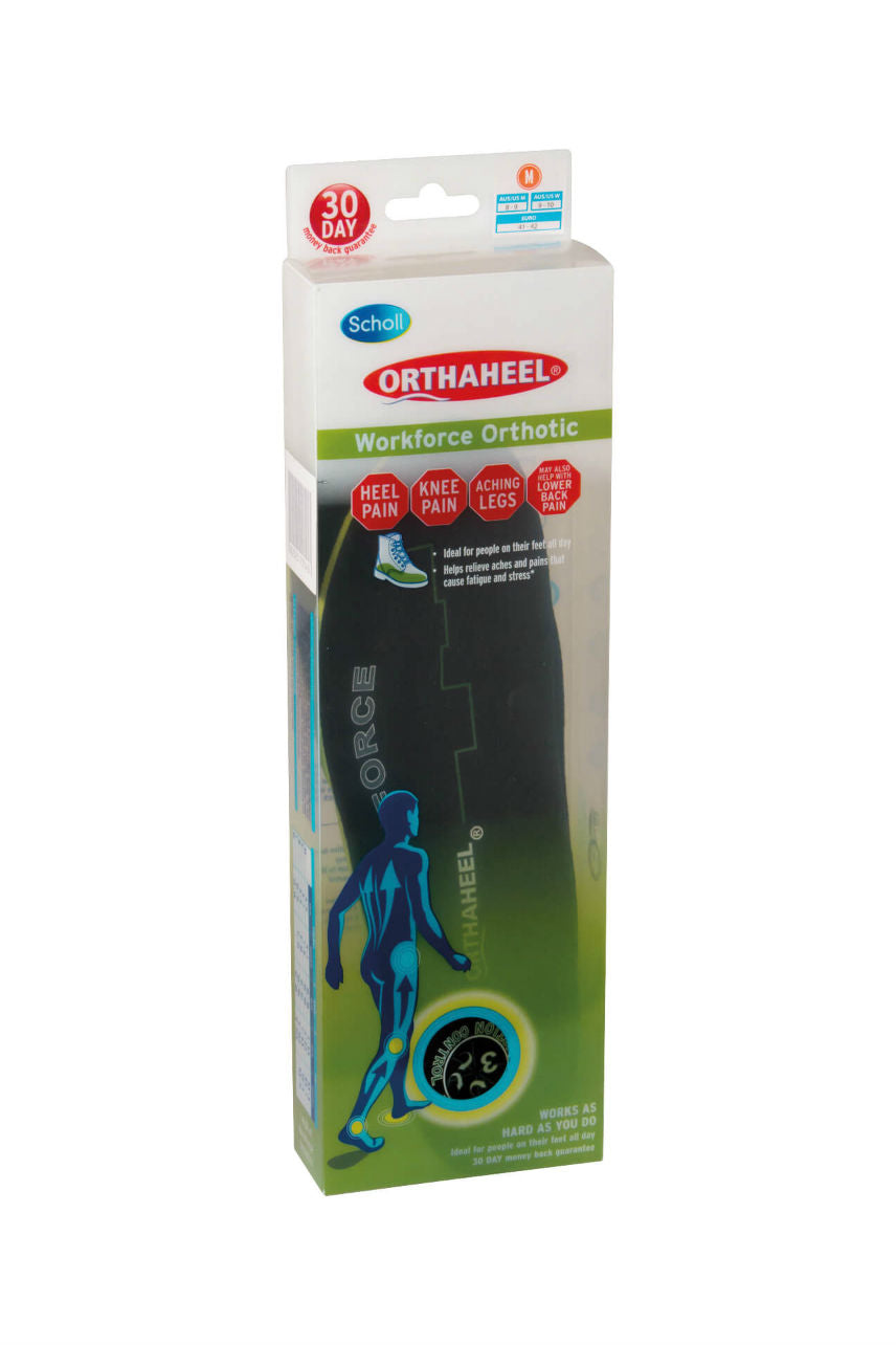 SCHOLL Orthaheel Workforce Orthotic M - Life Pharmacy St Lukes