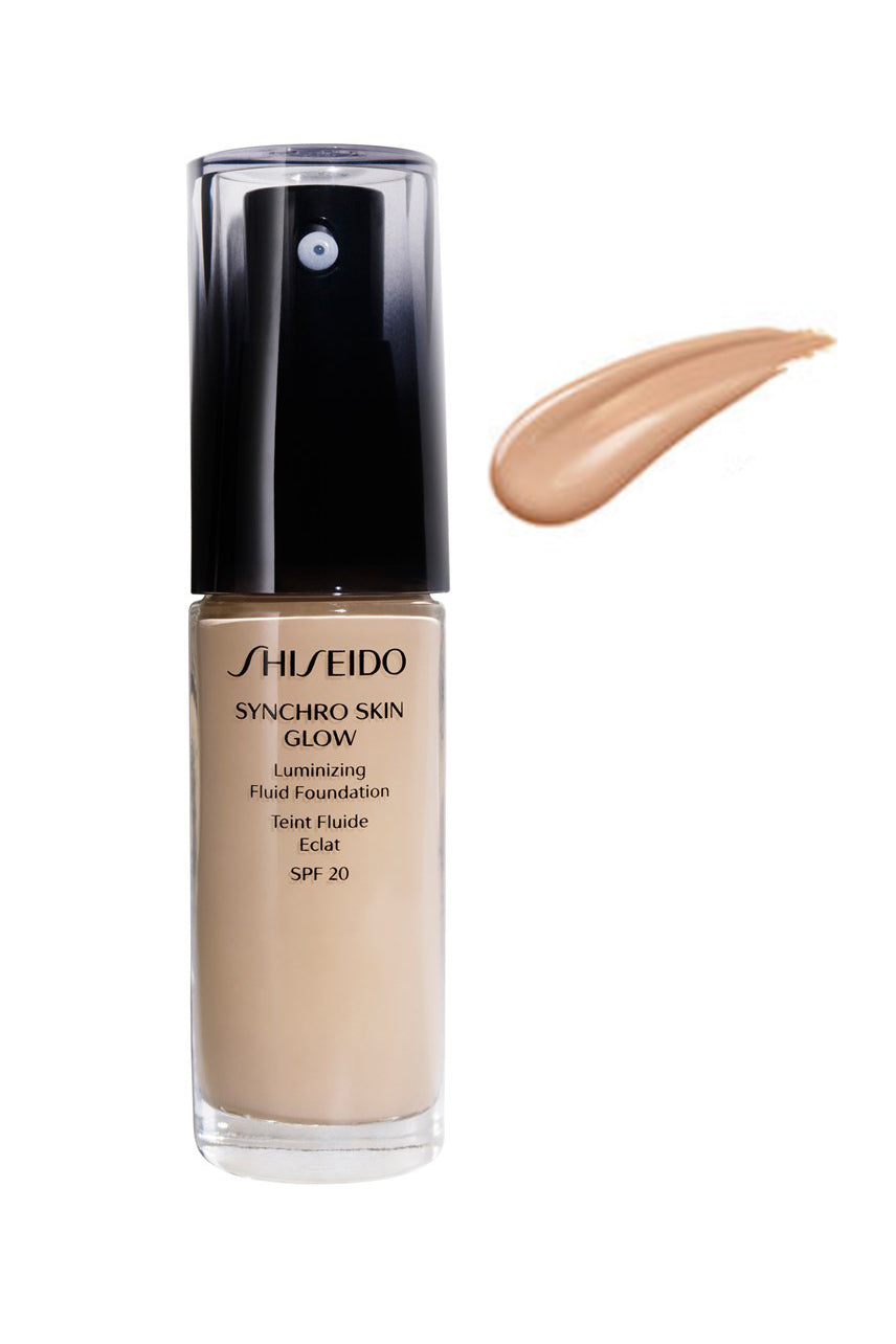 SHISEIDO Synchro Skin Glow Luminizing Fluid Foundation R3 30ml - Life Pharmacy St Lukes