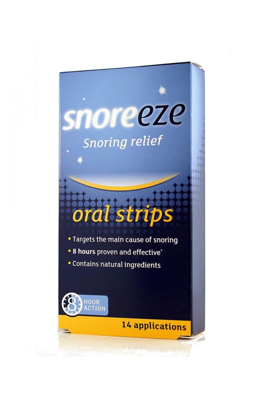 SNOREEZE Oral Strips 14 - Life Pharmacy St Lukes