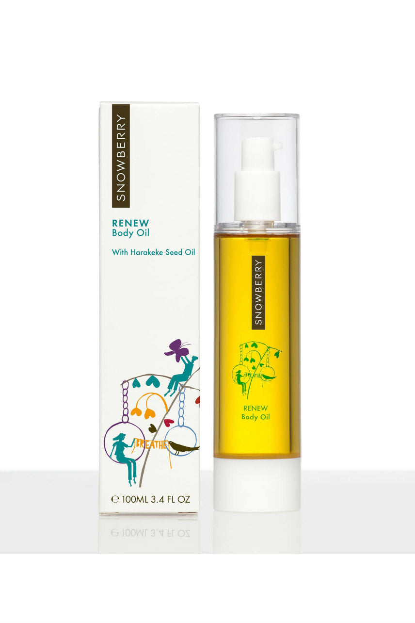 SNOWBERRY Renew Body Oil 100ml - Life Pharmacy St Lukes