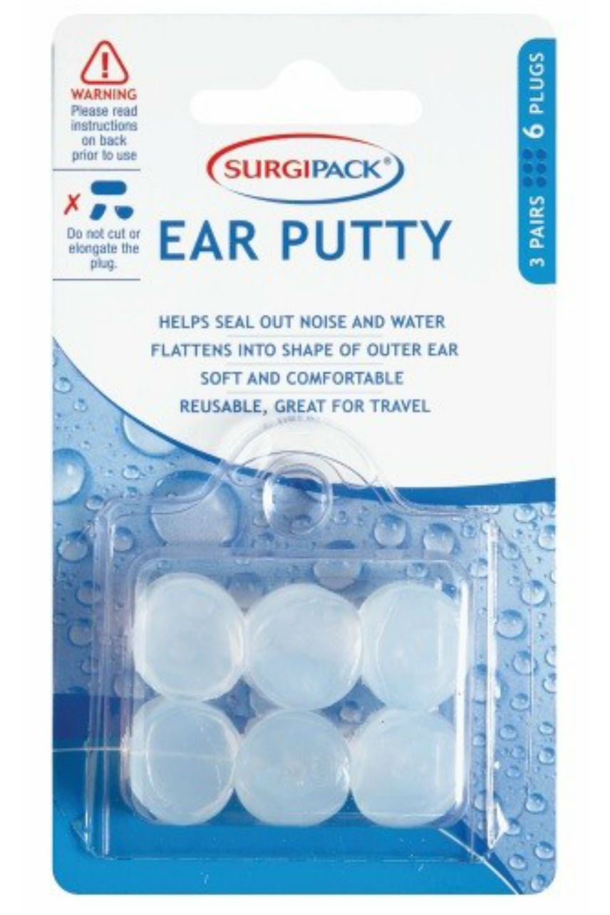 SurgiPack Ear Plug Putty Swim & Noise 3 Pairs - Life Pharmacy St Lukes