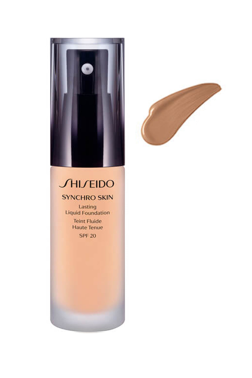 SHISEIDO Synchro Skin Lasting Liquid Foundation Neutral 4 - Life Pharmacy St Lukes