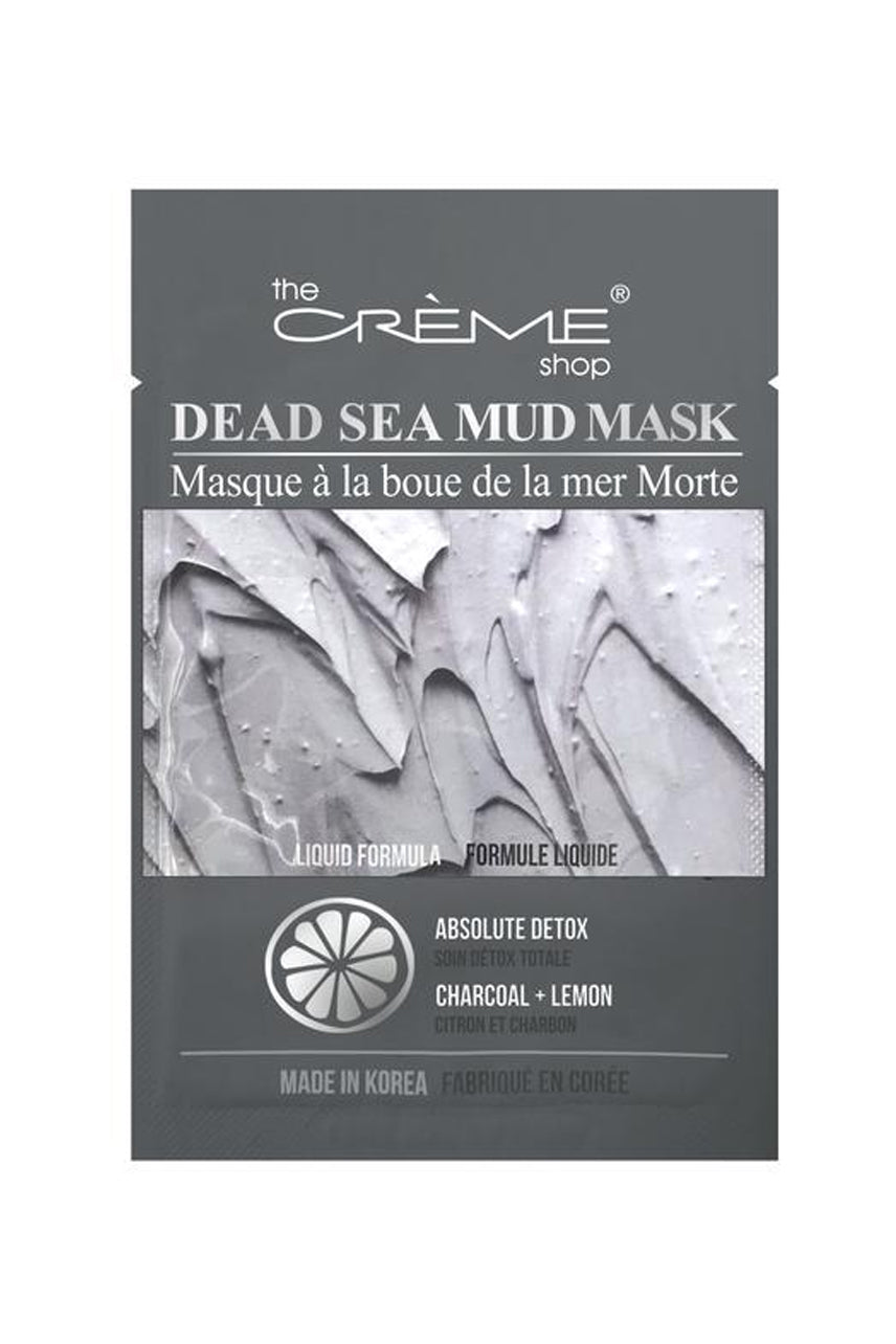 THE CREME SHOP Dead Sea Mud Mask - Absolute Detox: Charcoal + Lemon - Life Pharmacy St Lukes
