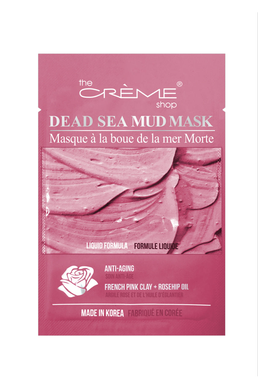 THE CREME SHOP Dead Sea Mud Mask - Anti-Aging: French Pink Clay + Rosehip Oil - Life Pharmacy St Lukes
