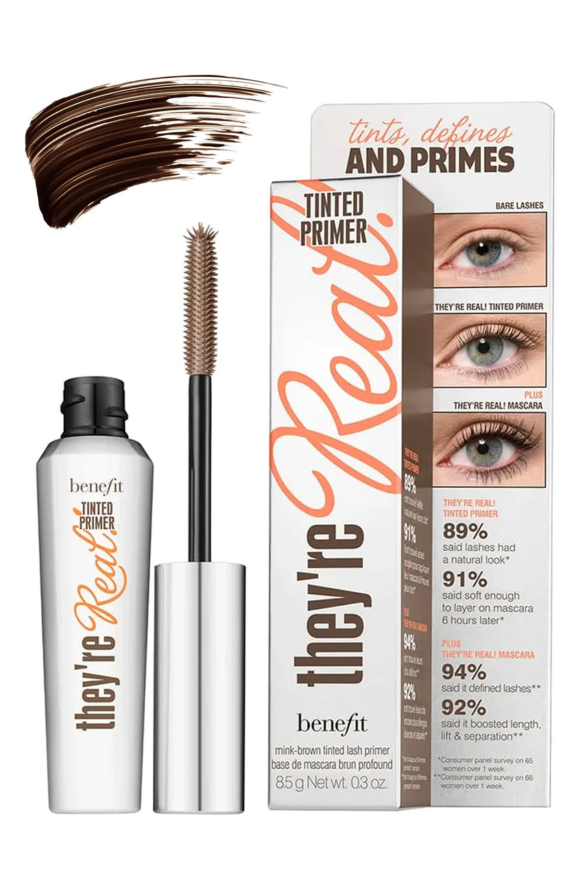 BENEFIT They're Real! Tinted Eyelash Primer Brown 8.5g - Life Pharmacy St Lukes