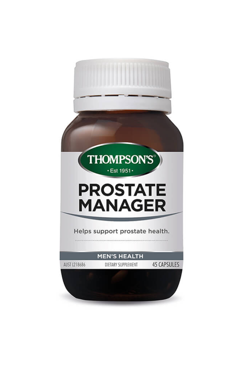 THOMPSONS Men Prostate Manager 45caps - Life Pharmacy St Lukes