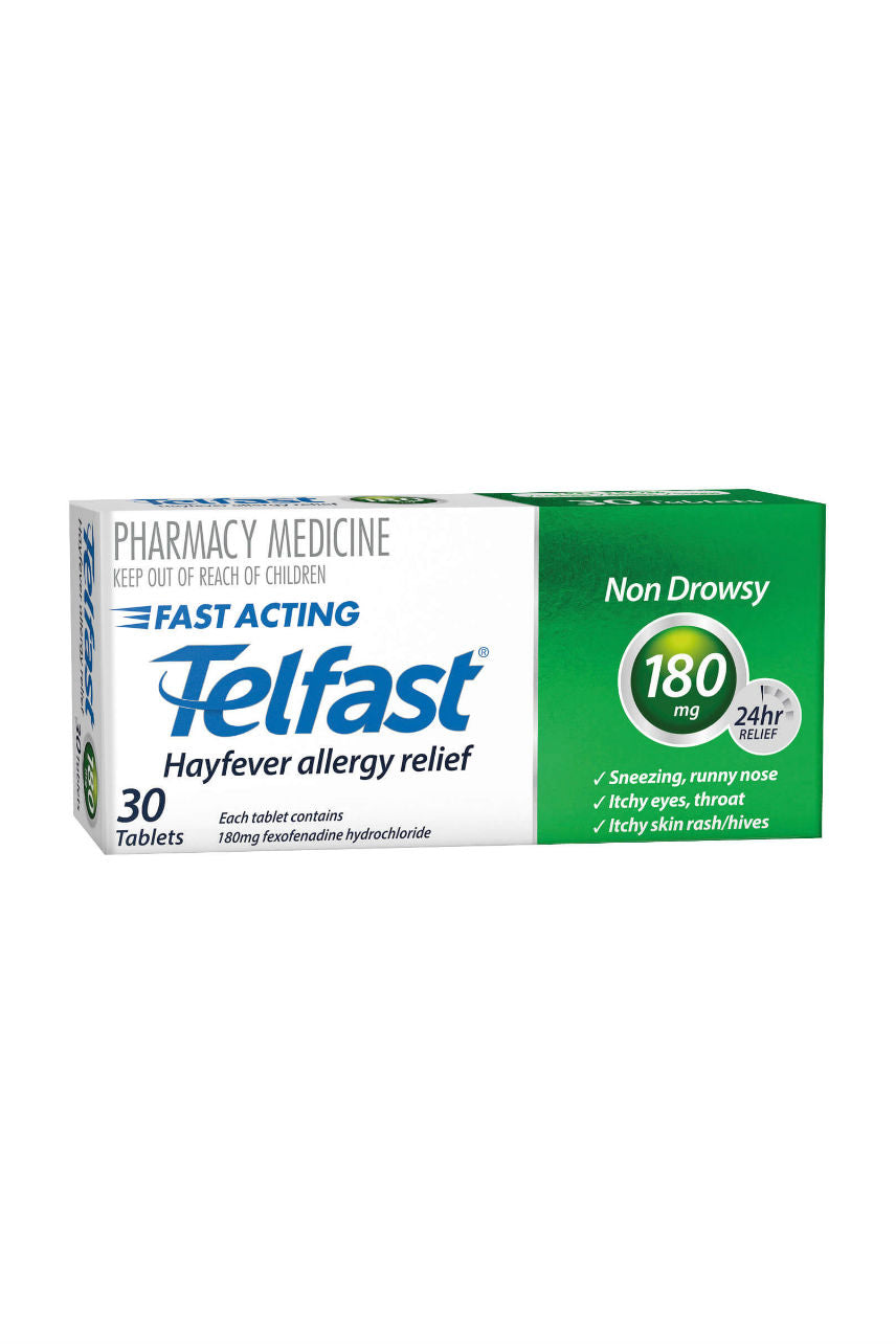 TELFAST Tablets 180mg 30s - Life Pharmacy St Lukes