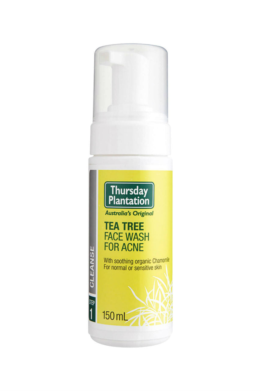 THURSDAY PLANTATION Tea Tree Face Wash for Acne 150ml - Life Pharmacy St Lukes