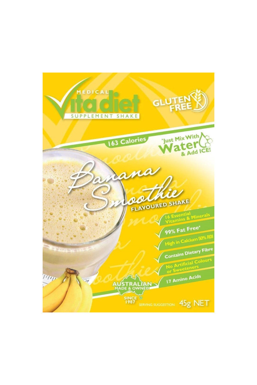 VITA DIET Banana Shake Single - Life Pharmacy St Lukes