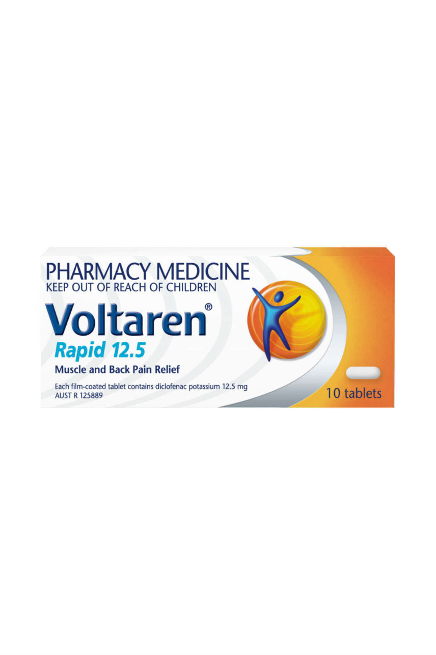Voltaren Rapid Tabs 12.5mg 10s - Life Pharmacy St Lukes