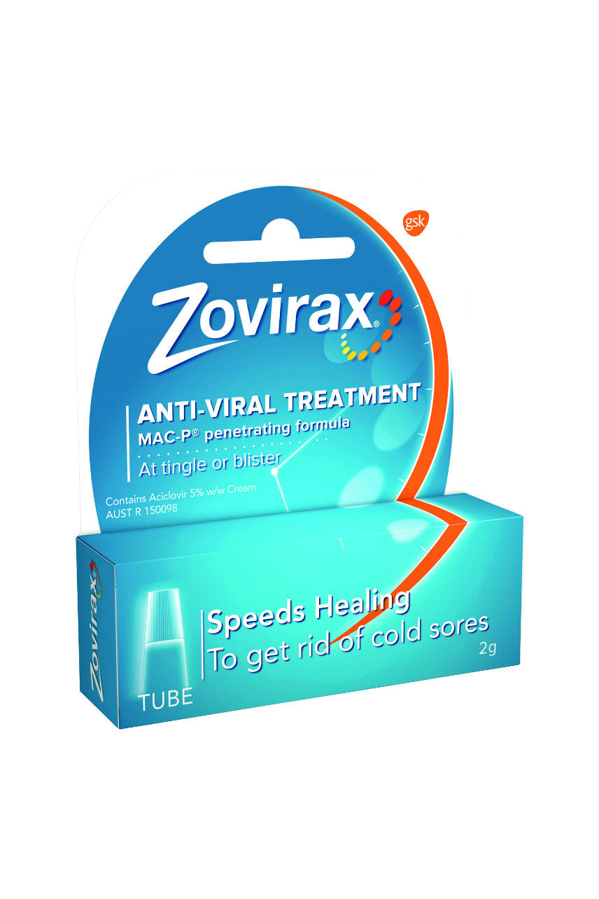 ZOVIRAX Cream Tube 2g - Life Pharmacy St Lukes