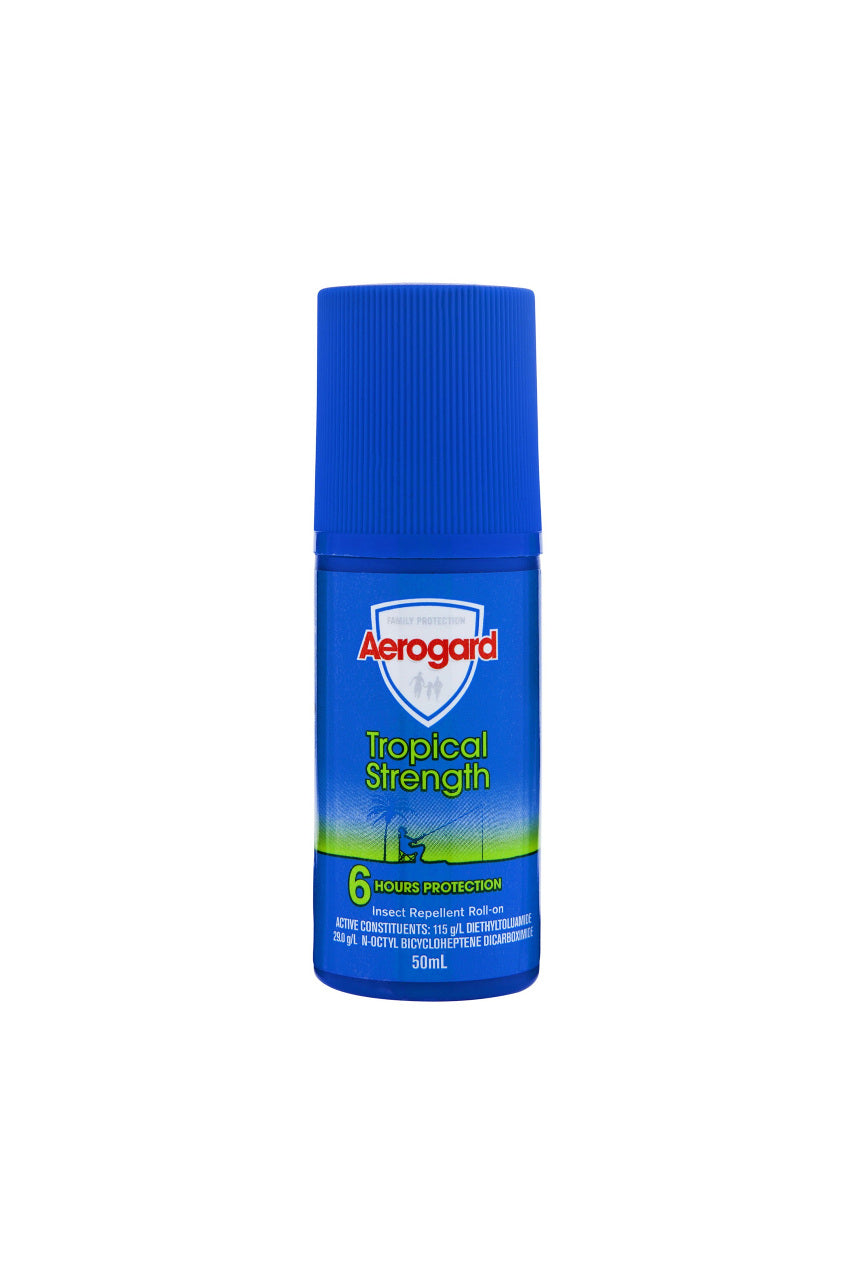AEROGARD Tropical Roll-On 50ml - Life Pharmacy St Lukes
