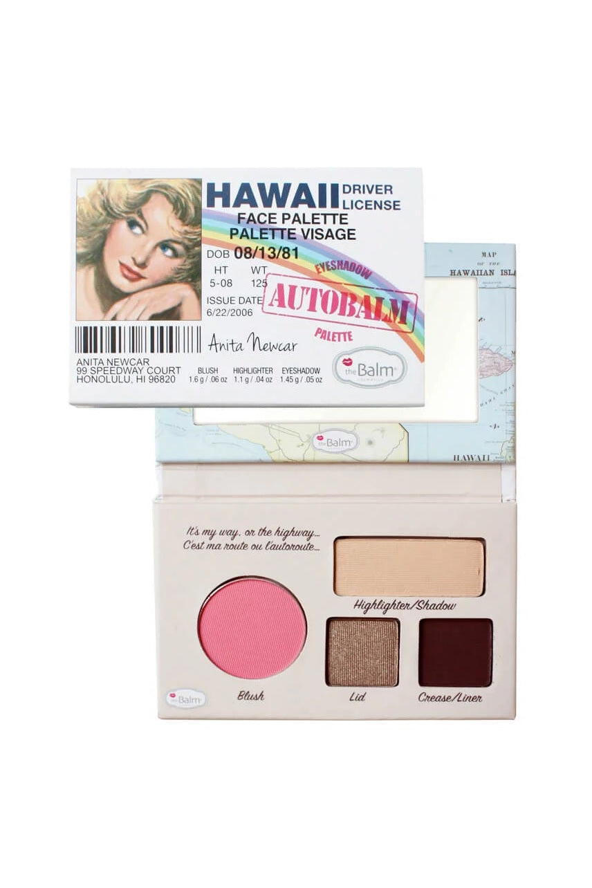 THEBALM Autobalm Face Palette Hawaii - Life Pharmacy St Lukes