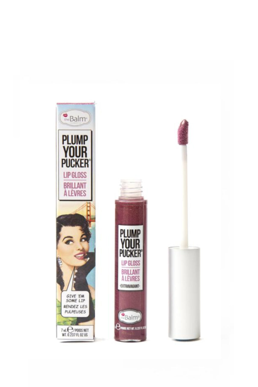 THEBALM Plump Your Pucker Lip Gloss Extravagant - Life Pharmacy St Lukes