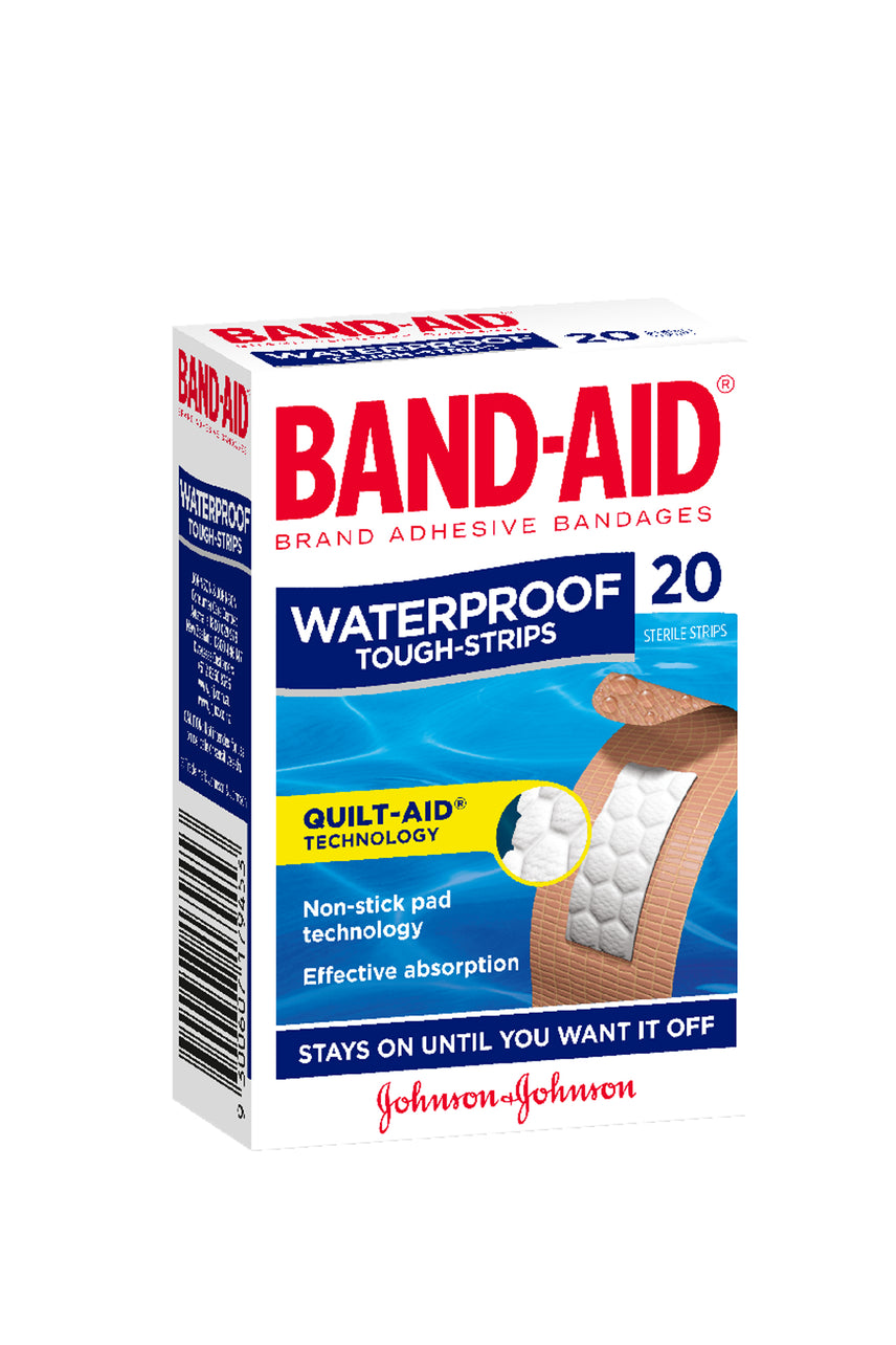 BANDAID Tough Strips Waterproof 20 - Life Pharmacy St Lukes