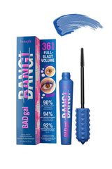 BENEFIT BADgal BANG! Volumizing Mascara Bright Blue 8.5g - Life Pharmacy St Lukes