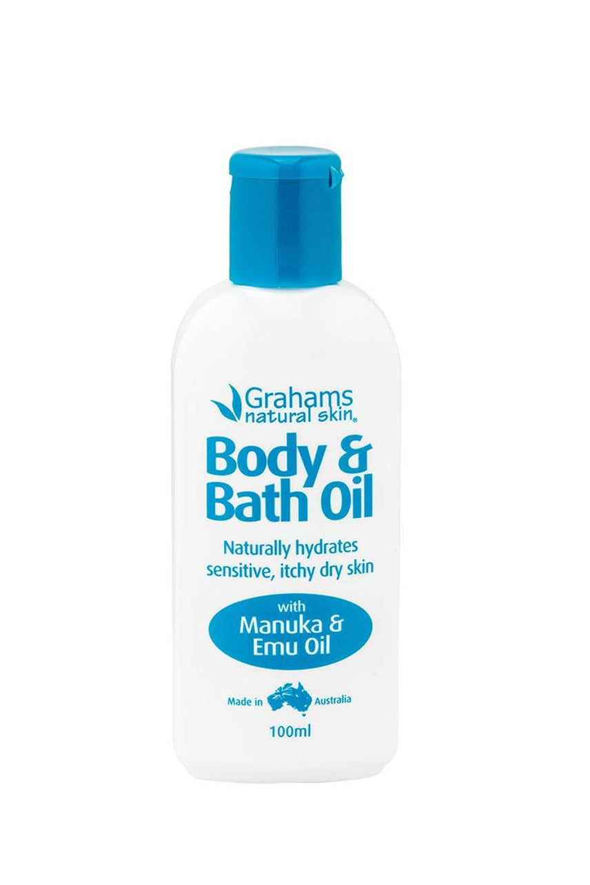 GRAHAMS BATH OIL 100ml - Life Pharmacy St Lukes