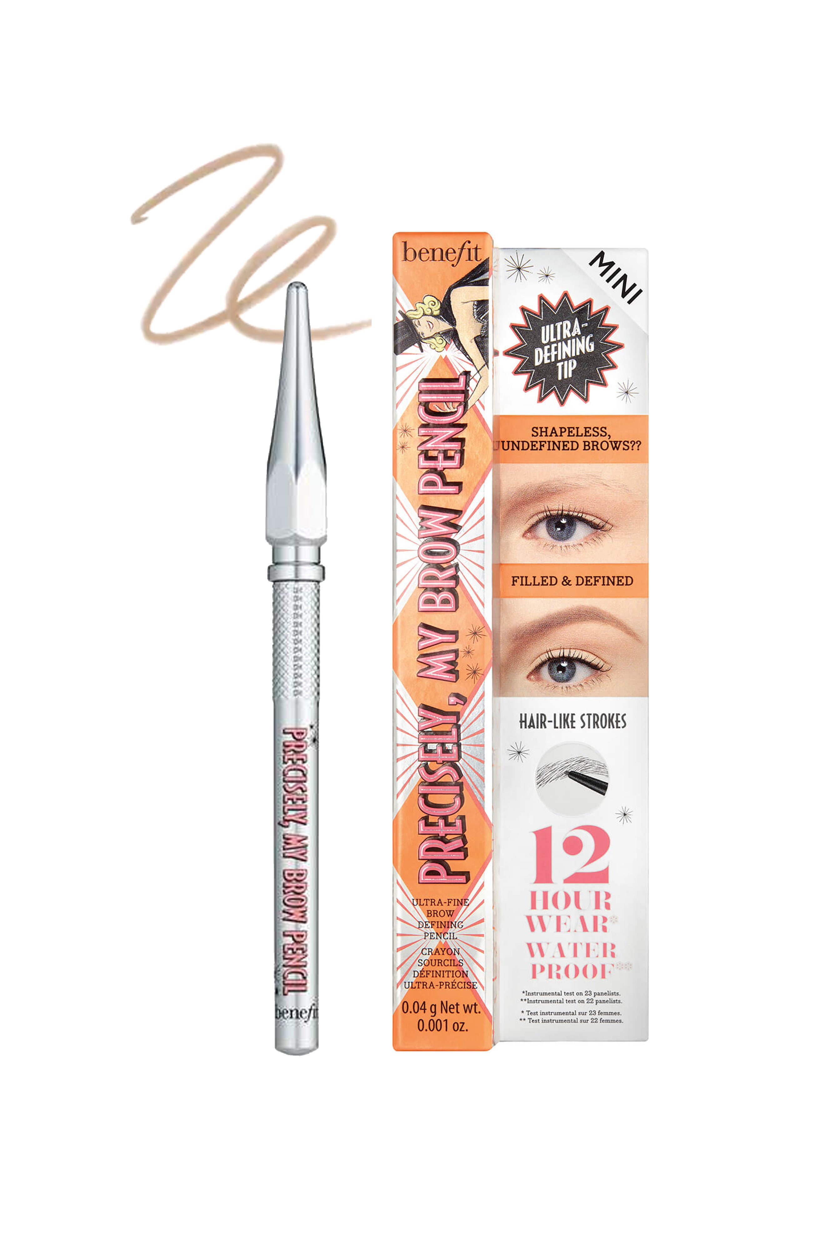 BENEFIT Precisely My Brow Pencil 01 Light Mini .04g - Life Pharmacy St Lukes