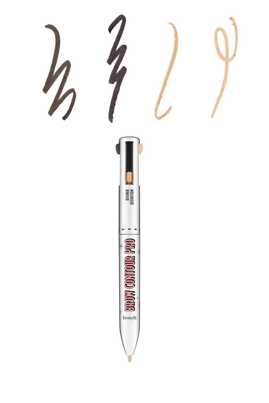 BENEFIT Brow Contour Pro 4-in-1 defining & Highlighting Brow Pencil 04 Brown Black Light - Life Pharmacy St Lukes