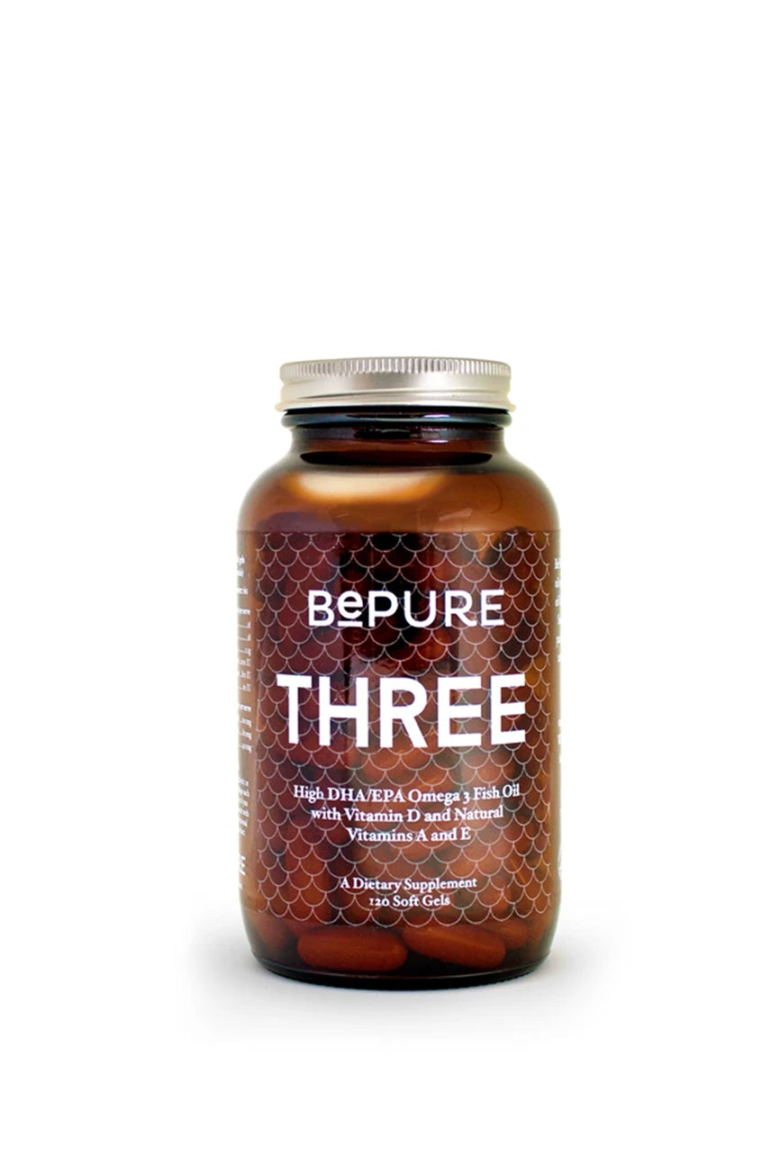 BePure Three - Omega 3 Fish Oil 120Caps - Life Pharmacy St Lukes