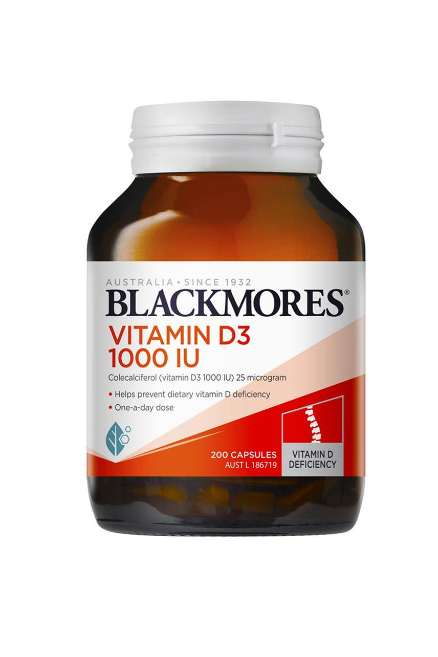 Blackmores Vitamin D3 1000 IU 200s - Life Pharmacy St Lukes
