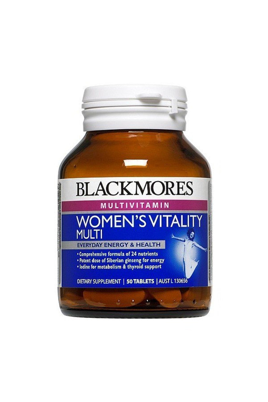 BLACKMORES Womens Vitality Multi 50tabs - Life Pharmacy St Lukes