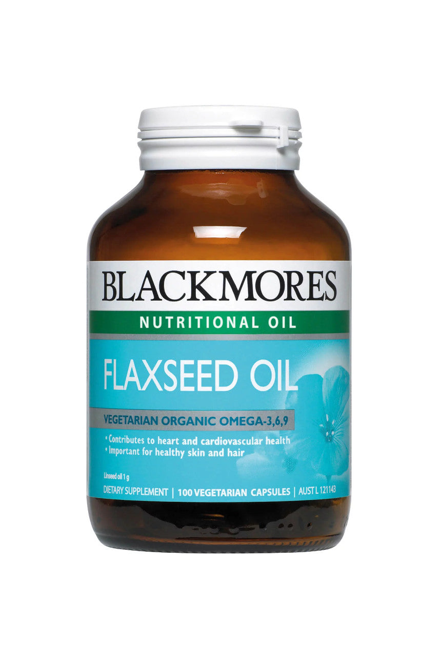 Blackmores Flaxeed Oil 1000mg 100caps - Life Pharmacy St Lukes