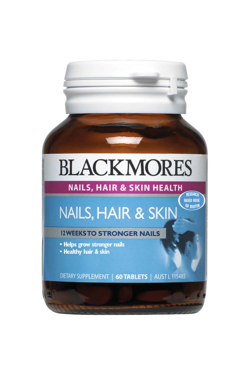 Blackmores Nails Hair Skin 60tabs - Life Pharmacy St Lukes