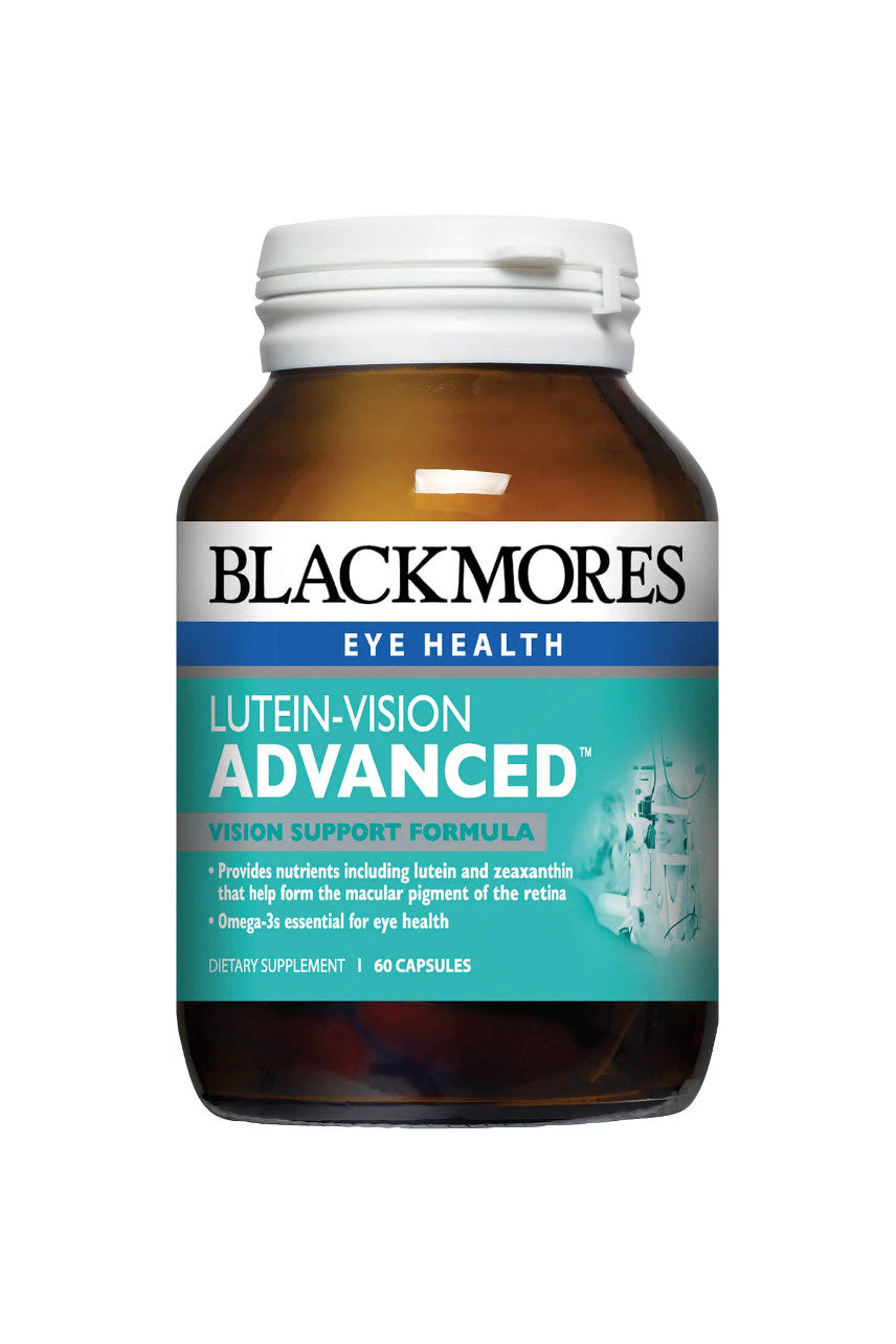 Blackmores Lutein Vision Advanced 60 Capsules - Life Pharmacy St Lukes