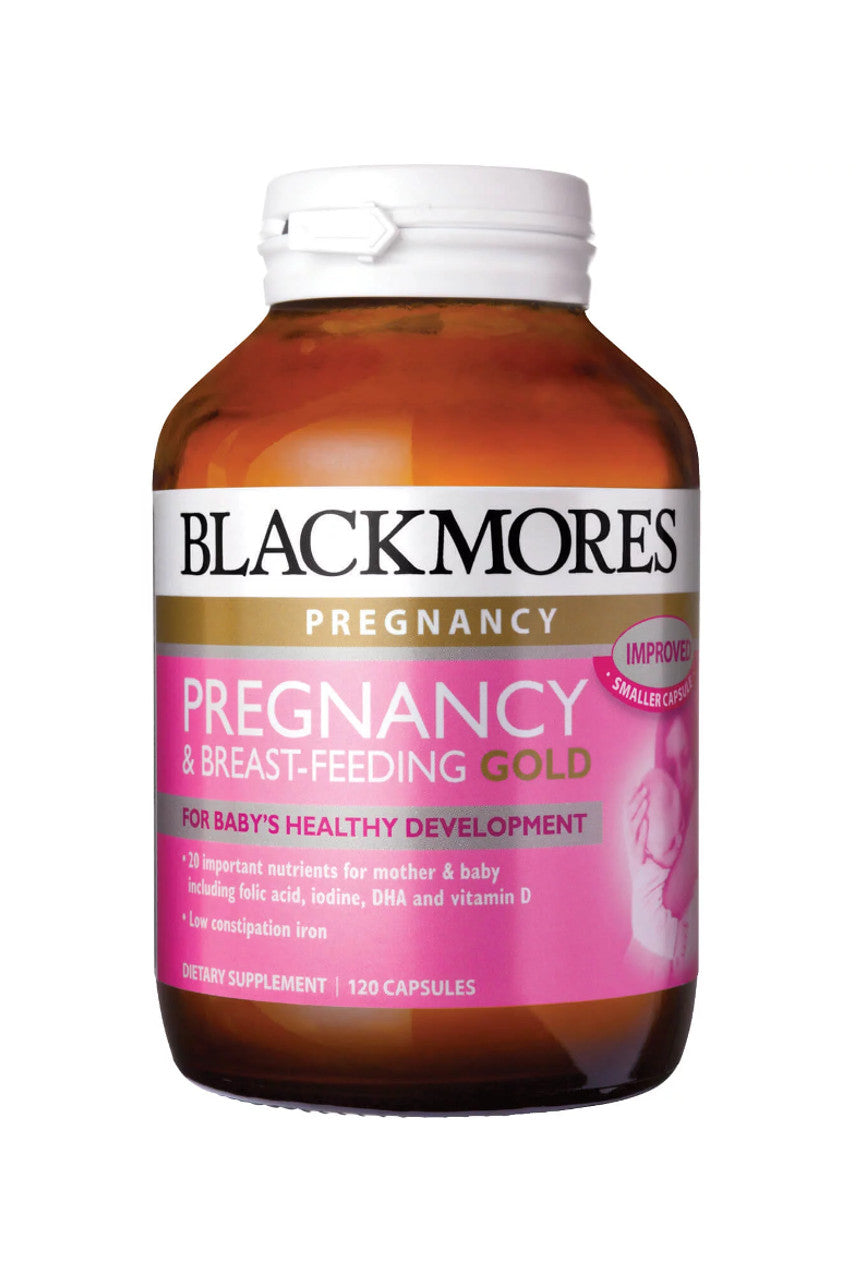 Blackmores Pregnancy & Breast-Feeding Gold 120caps - Life Pharmacy St Lukes