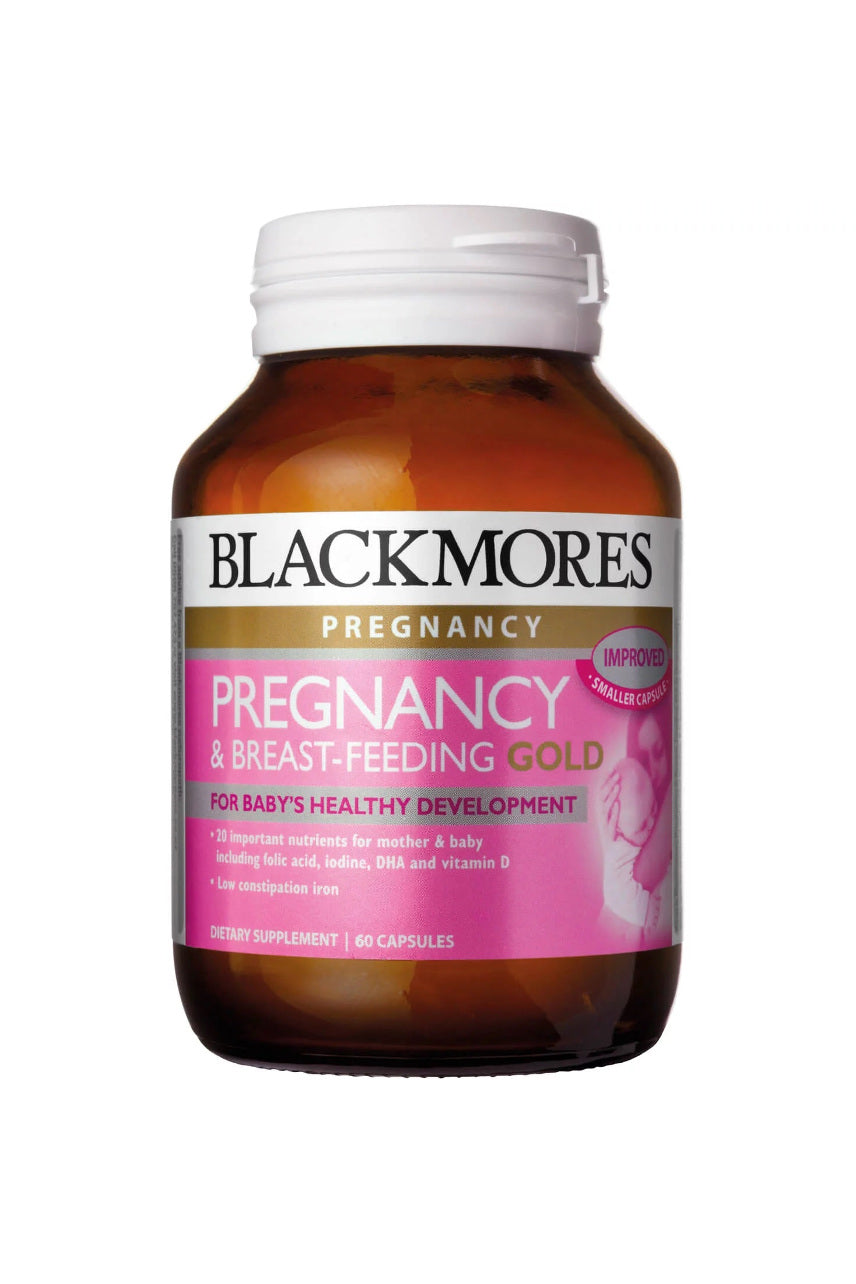 Blackmores Pregnancy & Breast-Feeding Gold 60caps - Life Pharmacy St Lukes