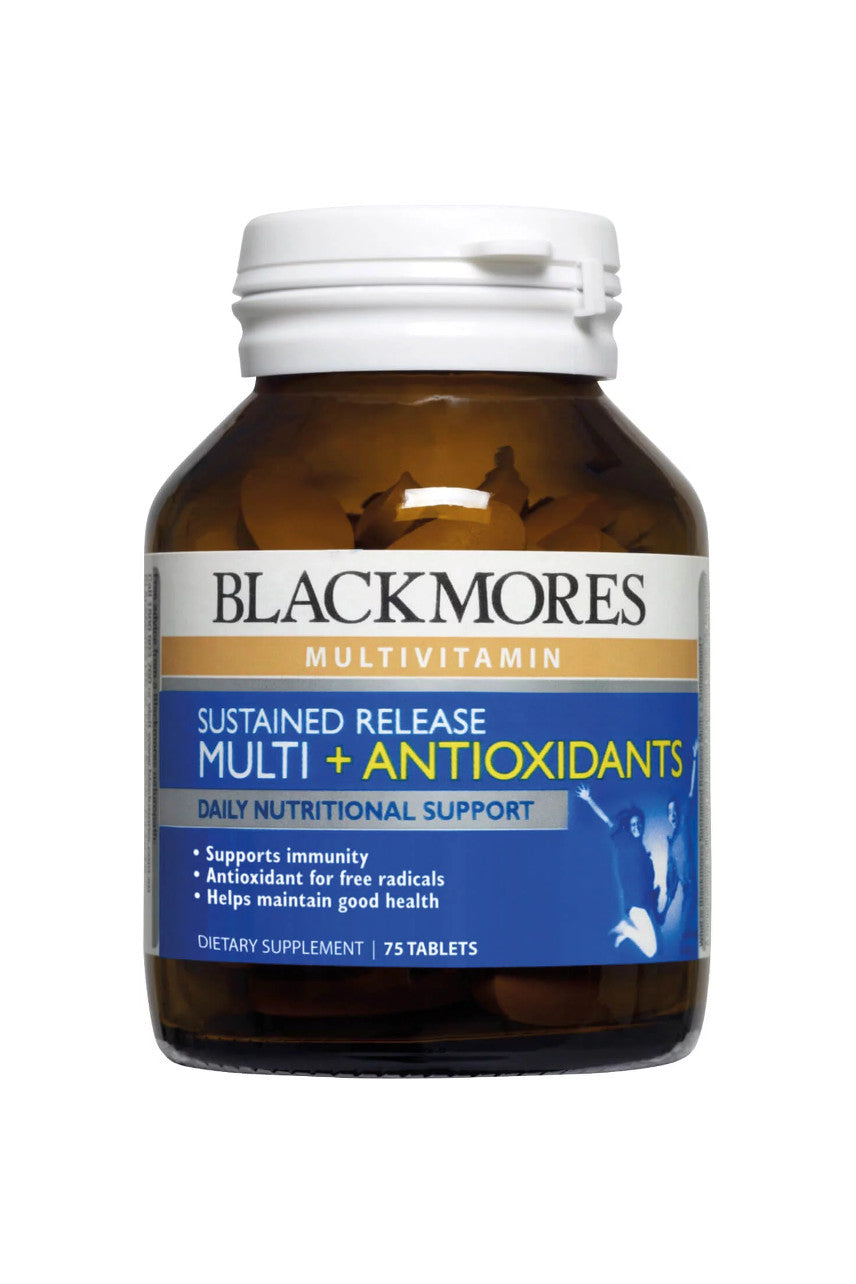 Blackmores Sustained Release Multi + Antioxidants 75tabs - Life Pharmacy St Lukes