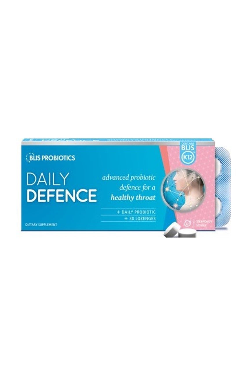 BLIS DailyDefence with BLIS K12™ Strawberry Flavour 30 Lozenges - Life Pharmacy St Lukes