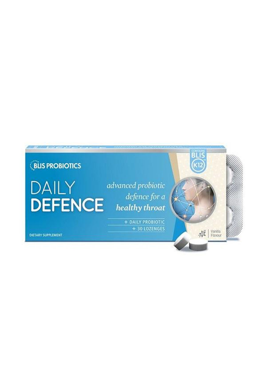 BLIS DailyDefence with BLIS K12™ Vanilla Flavour 30 Lozenges - Life Pharmacy St Lukes