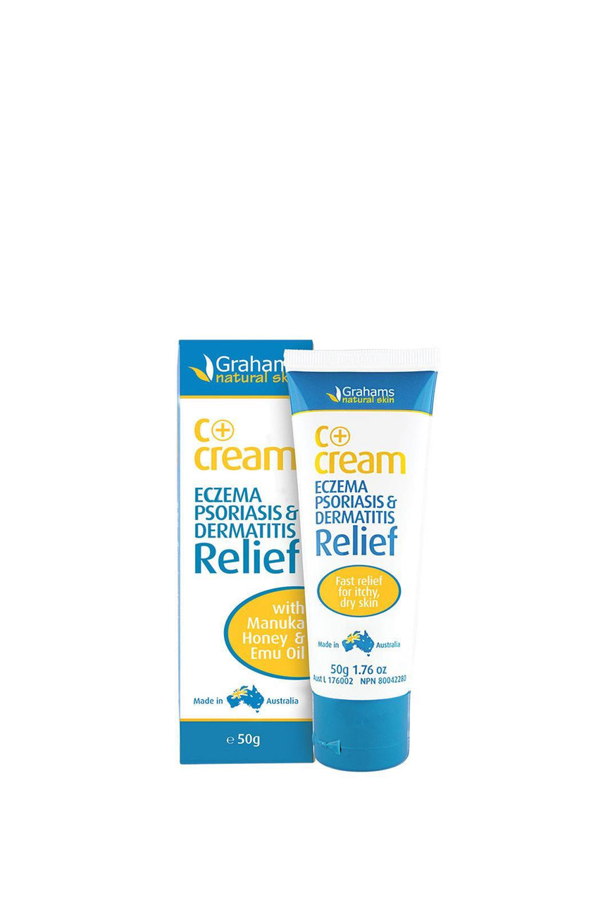 GRAHAMS C+ Eczema & Dermatitis Cream 50gm - Life Pharmacy St Lukes