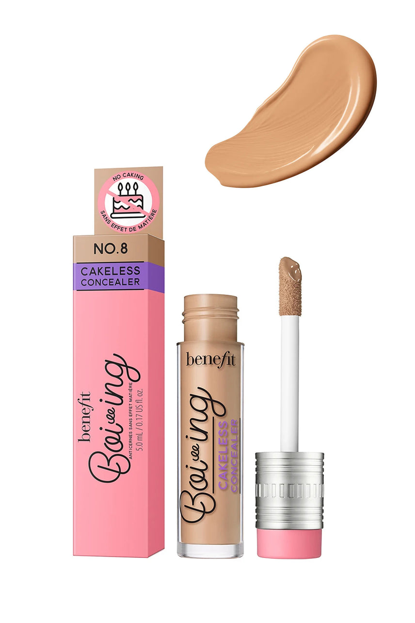 BENEFIT Boi-ing Cakeless Concealer 08 Medium Cool Tan 5ml - Life Pharmacy St Lukes