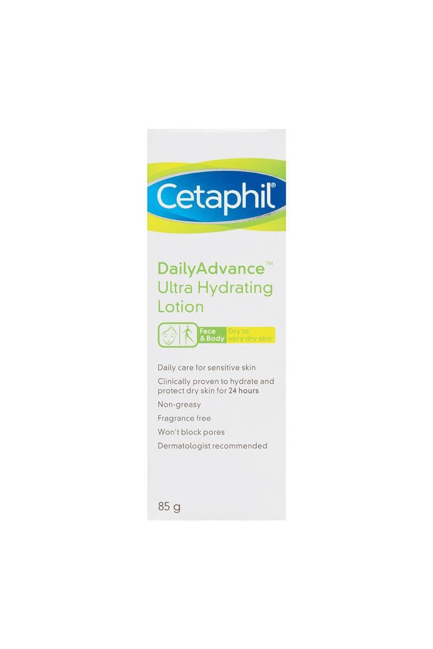 CETAPHIL Daily Advance Ultra Hydrating Lotion 85g - Life Pharmacy St Lukes