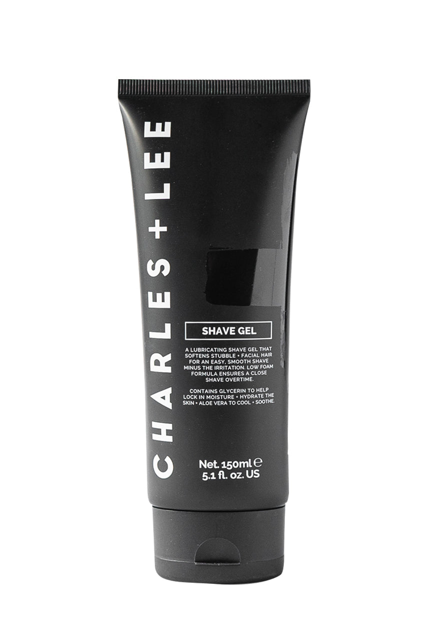 Charles + Lee Shave Gel 150ml - Life Pharmacy St Lukes