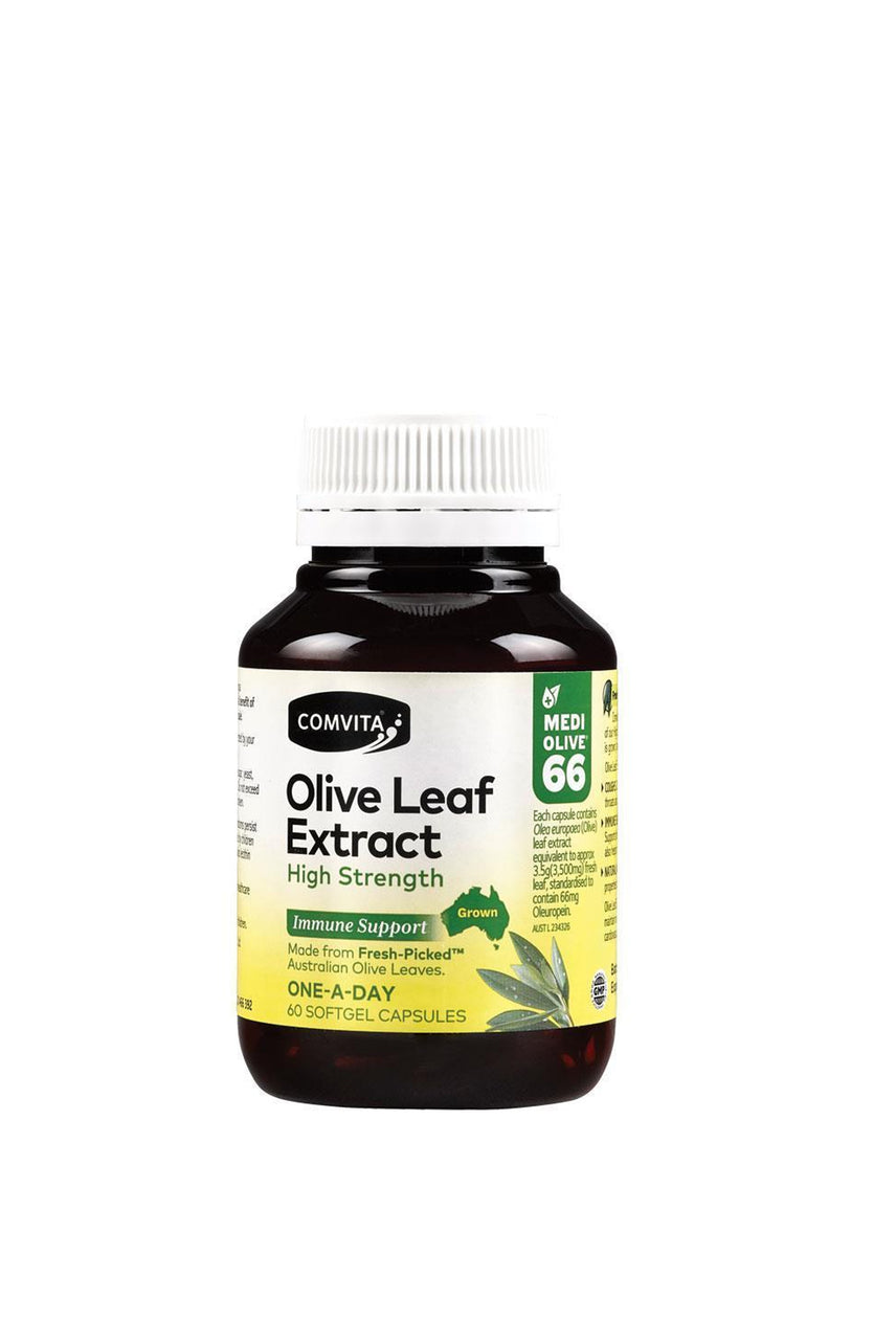 COMVITA Olive Leaf Extract High Strength 60 Capsules - Life Pharmacy St Lukes